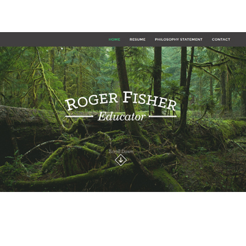 Roger Fisher Education